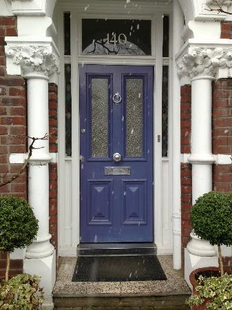 lilac door