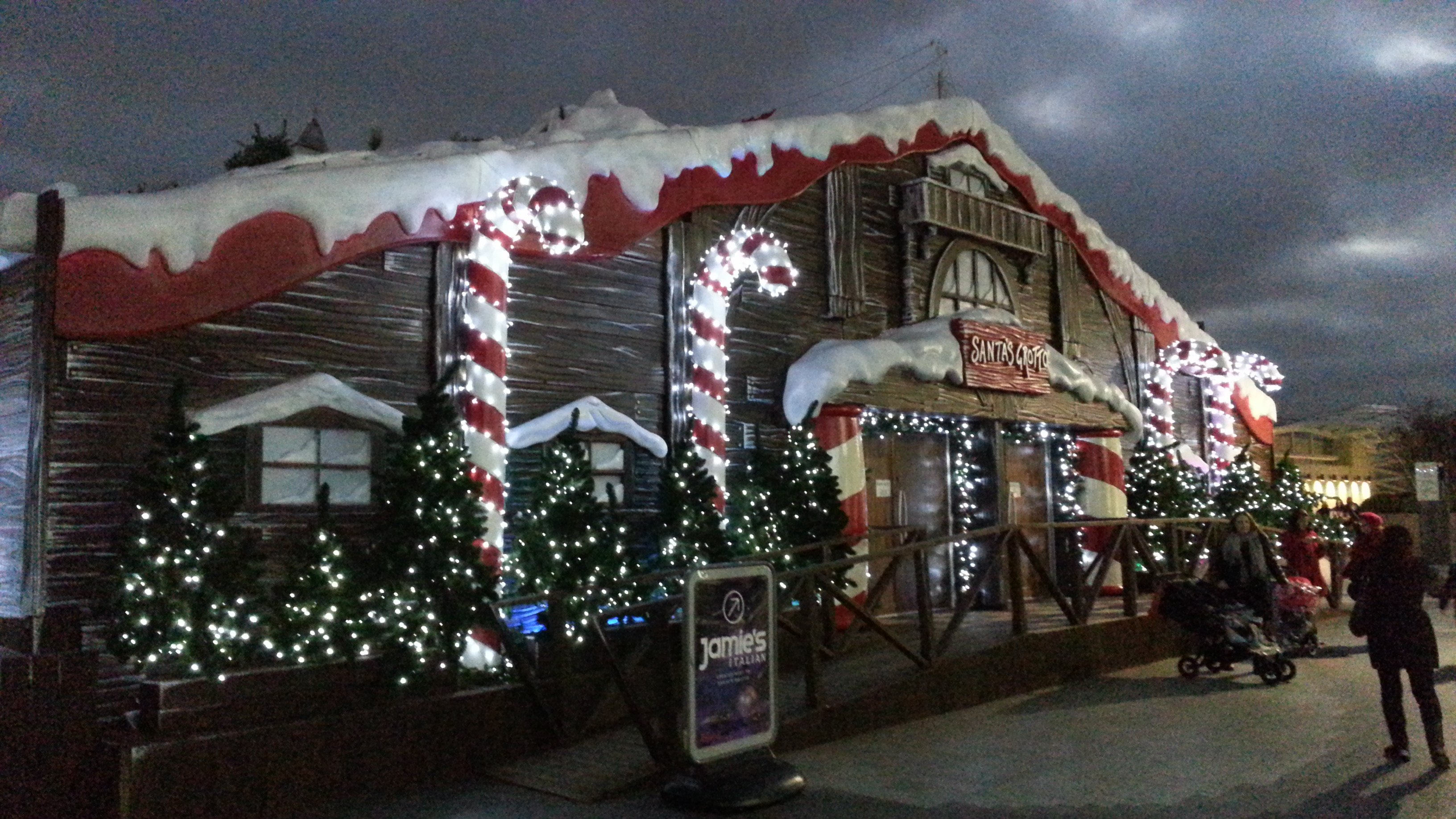 Christmas Grotto at Westfield London