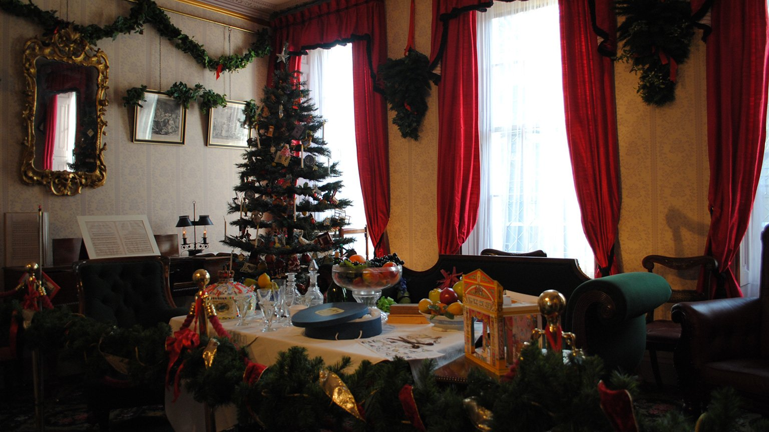 Christmas at Charles Dickens Museum