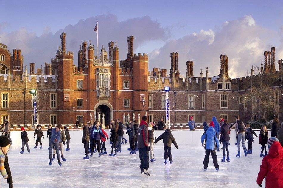 Hampton Court Palace Ice Rink5