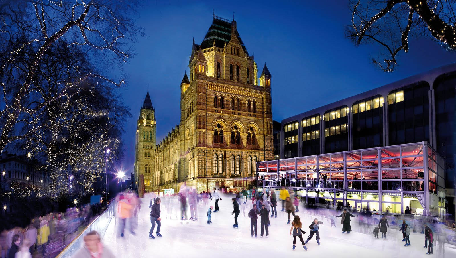 Natural History Museum Ice Rink6