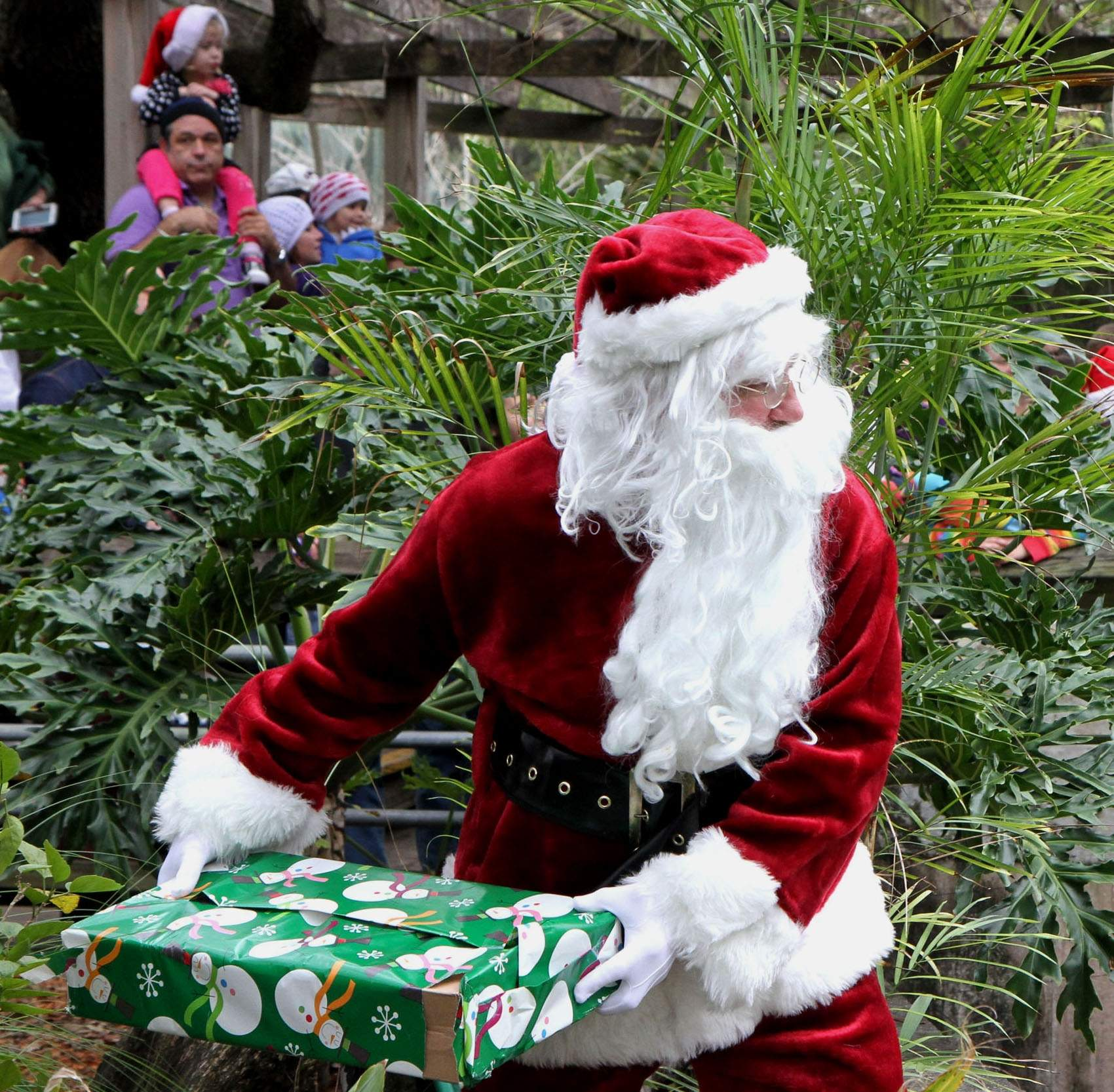 Santa's Grotto At The London Zoo