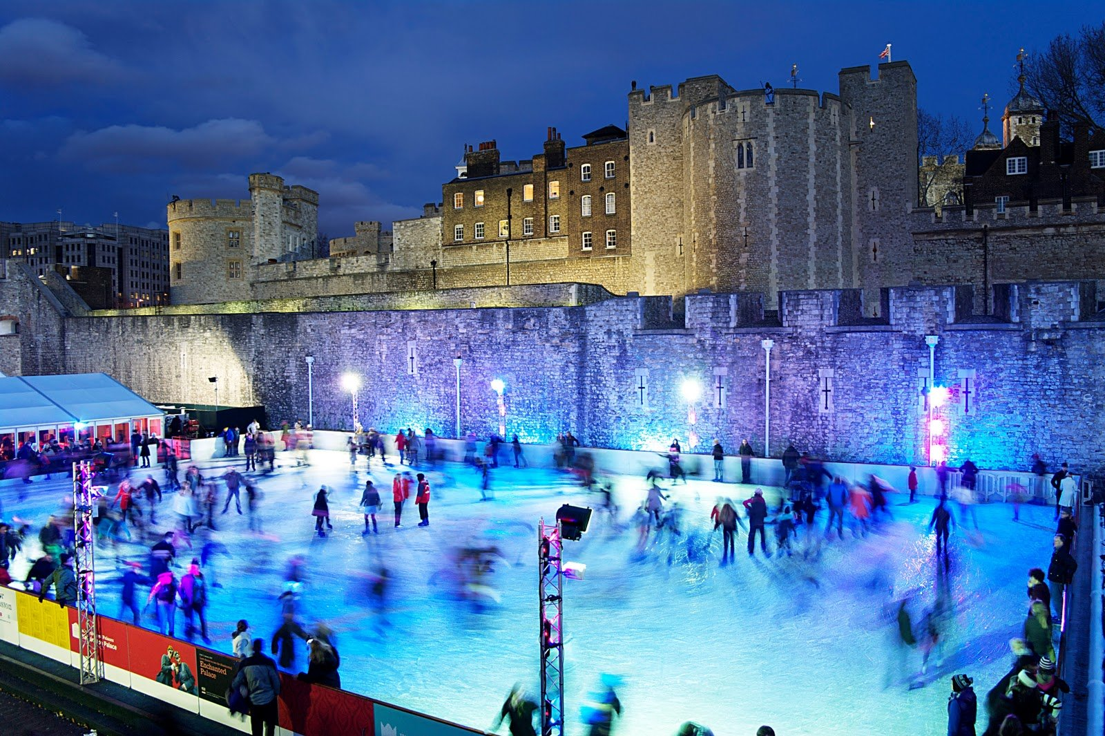 Tower of London Ice Rink7