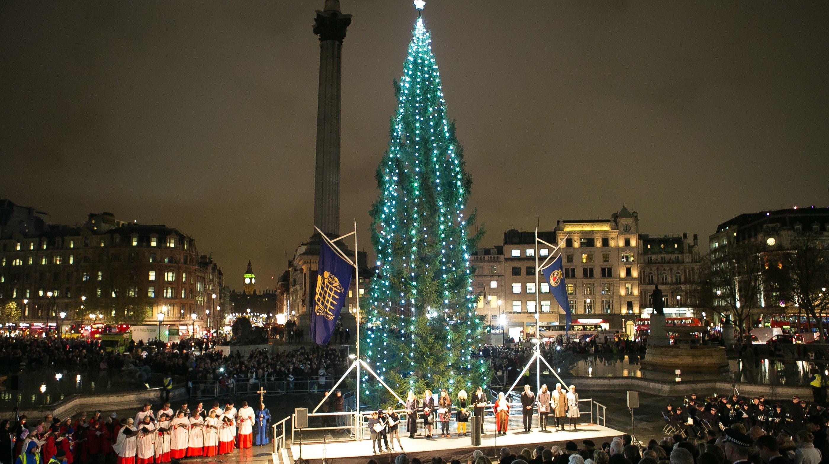 Trafalgar Square Christmas Tree & Carols
