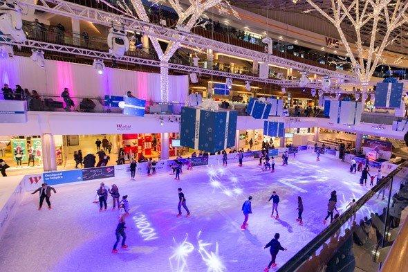 Westfield London Ice Rink11