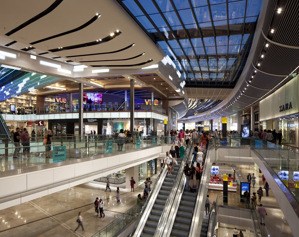 Westfield Stratford City, Olympic Park, London, UK.Architect: The Buchan Group