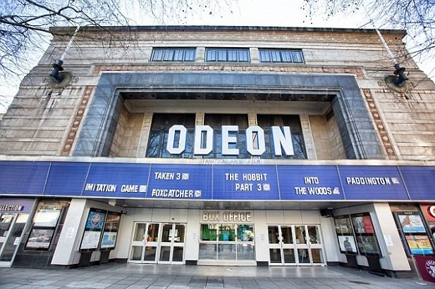 The Odeon cinema in Kensington which has been saved